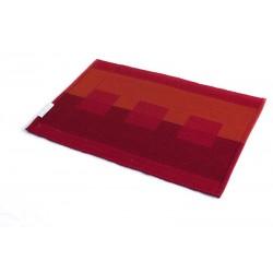 Prostírání bavlna bordó kostka (30×45)