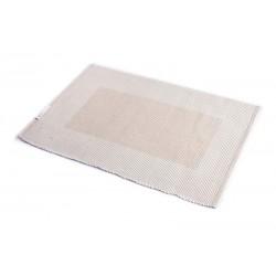 Prostírání bavlna béžový rámeček (30×45)