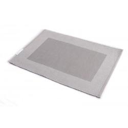 Štola bavlna 30x90cm šedý rámeček