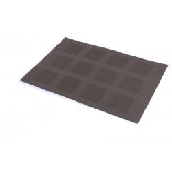 Prostírání PVC šedá kostka (30×45)