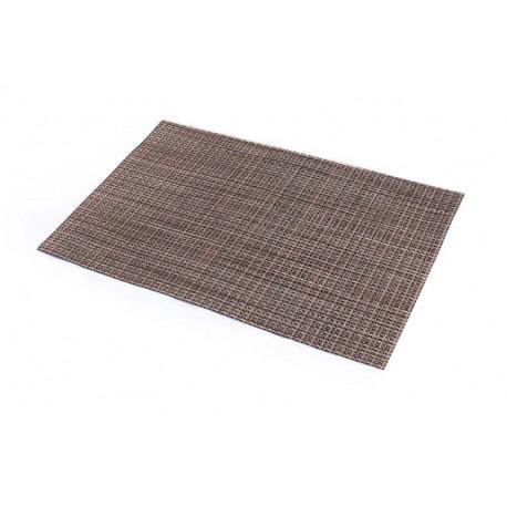 Prostírání PVC tmavé dřevo (30×45)