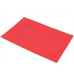 Prostírání PVC červený rámeček (30×45)