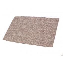 Štola bavlna 35x140cm melír hnědý