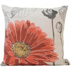 Povlak na polštář 45 x 45 cm Květ oranžový