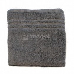 Ručník Uni tmavě šedý 50 x 100 cm