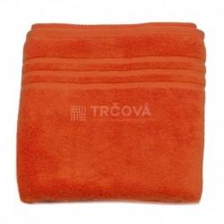 Ručník Uni oranžový 50 x 100 cm