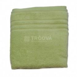 Ručník Uni zelený 50 x 100 cm