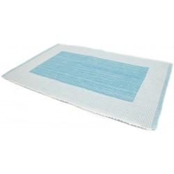 Prostírání bavlna rámeček tyrkysový