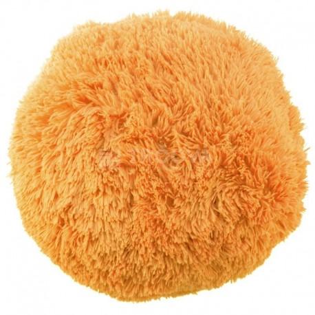 Polštář chlupatý oranžový Ø 70 cm