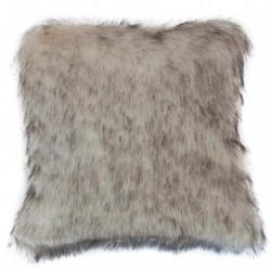 Povlak na polštářek Claire hnědý melír