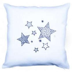 Povlak Vánoční stříbrné hvězdy