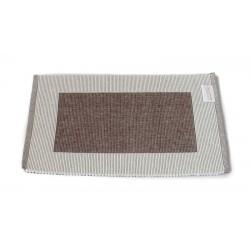 Prostírání bavlna hnědý rámeček (30×45)
