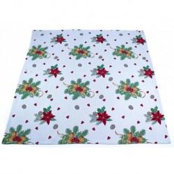 Gobelínový ubrus Vánoční hvězdy 100 x 100 cm