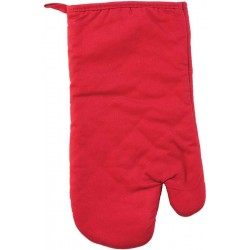 Chňapka bavlna Uni červená